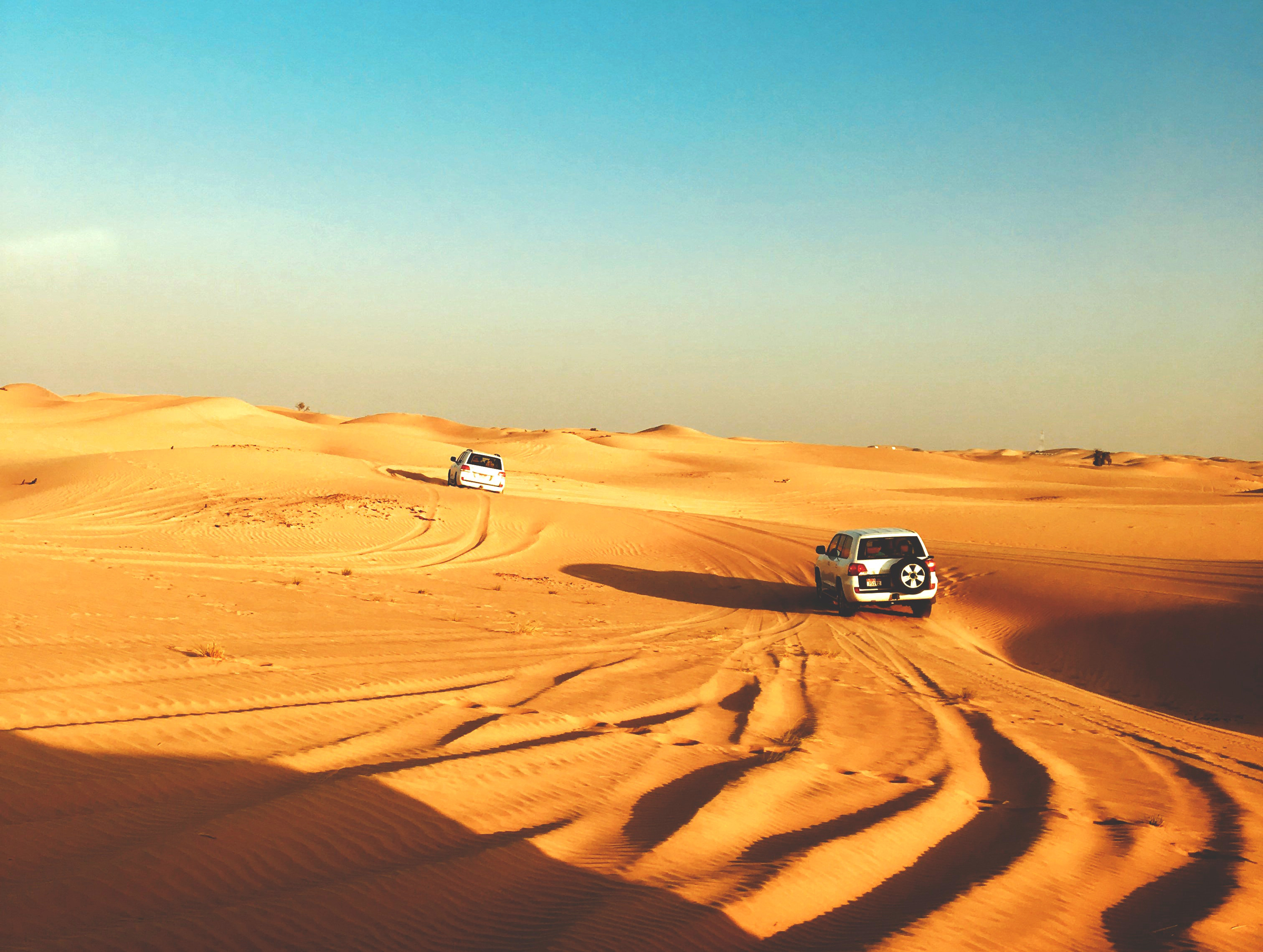 THE TASTE OF DUNE BASHING IN DUBAI